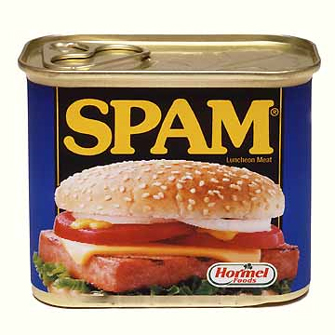 Spam attack brings down the news.