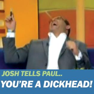 Josh Kronfeld calls Paul Henry a Dickhead