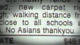 Blooper Watch: No asians?!