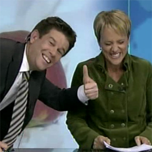 Blooper Alert: Why we love Hilary Barry. No. 54