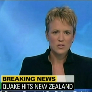 Video: A montage of coverage as news of the quake spread around the world