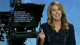 VIDEO: 3 News pays tribute to autocue inventor