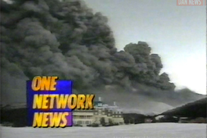 Gallery: News coverage of Ruapehu eruption in 1996