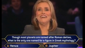 "Best game show blooper I've ever seen: ""Uranus Millionaire"""