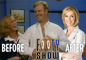 Flashback Video: The Footy Show
