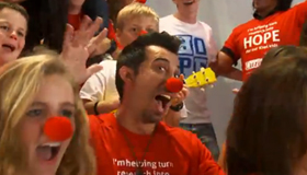 New Cure Kids Red Nose Day video released