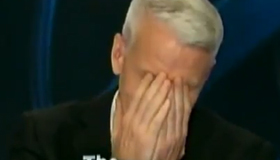 Blooper Gold: Anderson Cooper gets the giggles