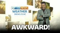 Video: That awkward moment when a weatherman forgets what channel he is on