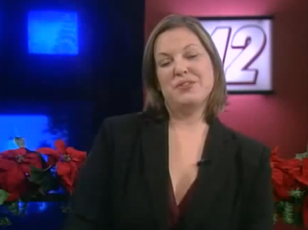 Video: Drunk Newsreader?