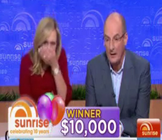 VIDEO: Unexpected F Bomb on Sunrise