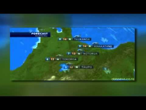 VIDEO: Weirdest weather script ever?