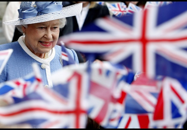 Queen Elizabeth II Attends 300th Anniversary Service At St Paul's Cathedral