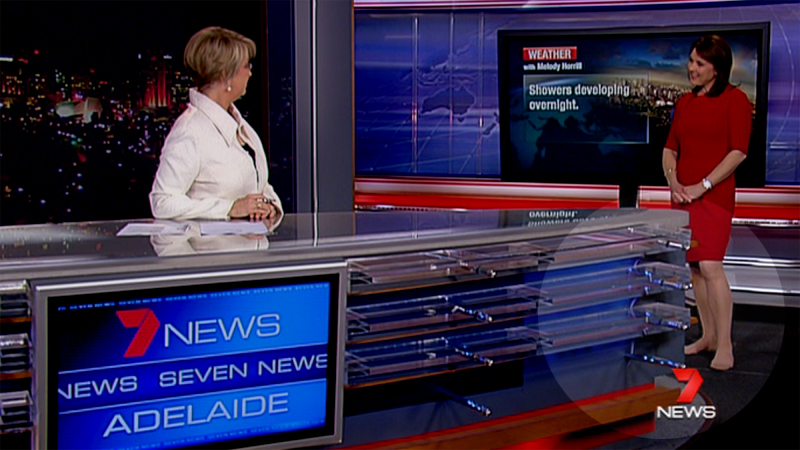 VIDEO: A new look for 7 News…but who forgot their shoes?