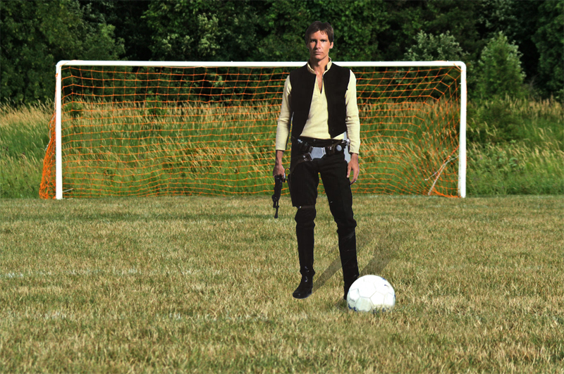 Radio Live: Han Solo plays soccer?