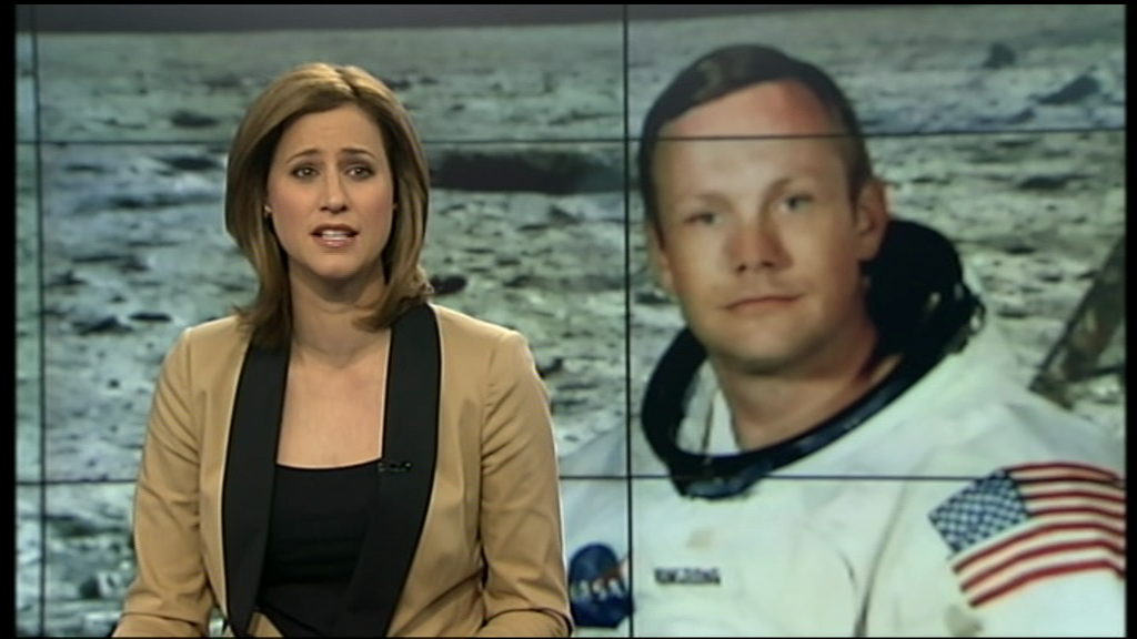 Whoops! One News get the wrong Armstrong
