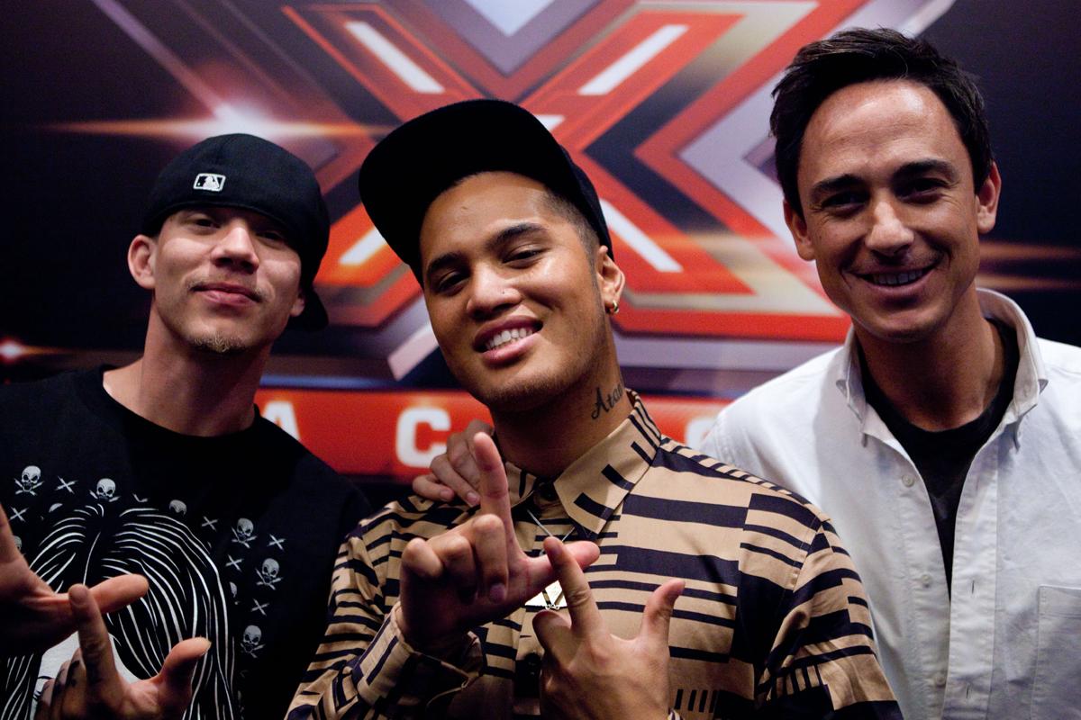 The X Factor_Chris Rene, Stan Walker_Dominic Bowden