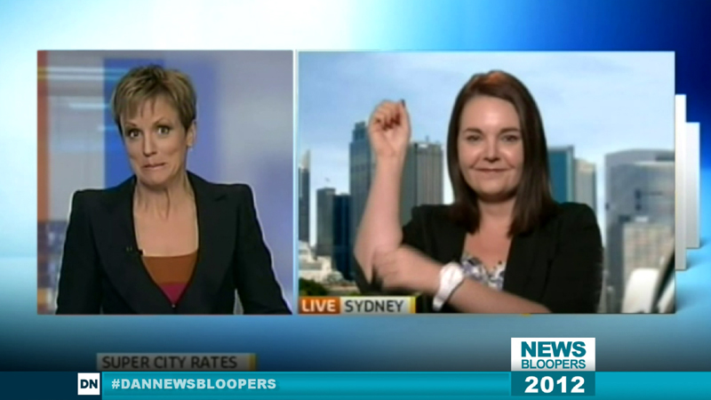 Dan News Blooper Compilation 2012 #DanNewsBloopers