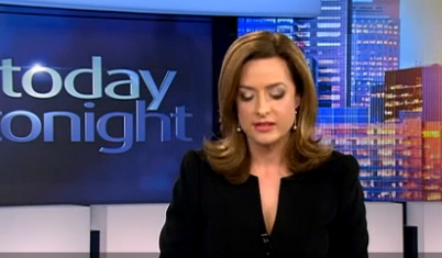 Blooper Watch: News host nightmare. No script, not autocue and no where to cross to