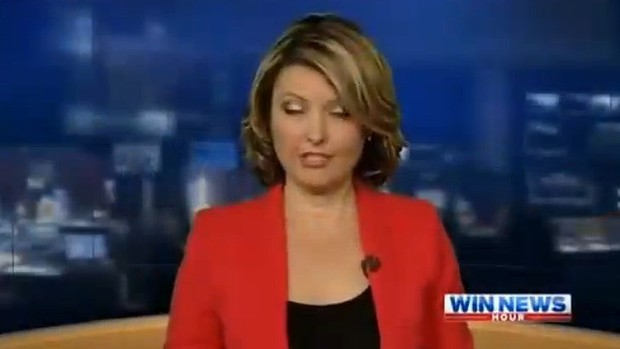 "Blooper Watch"" ""Tonight I'm going to sound like a drunk"" says Aussie newsreader"