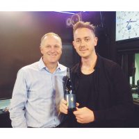 AUDIO: John Key takes over sports news on breakfast radio