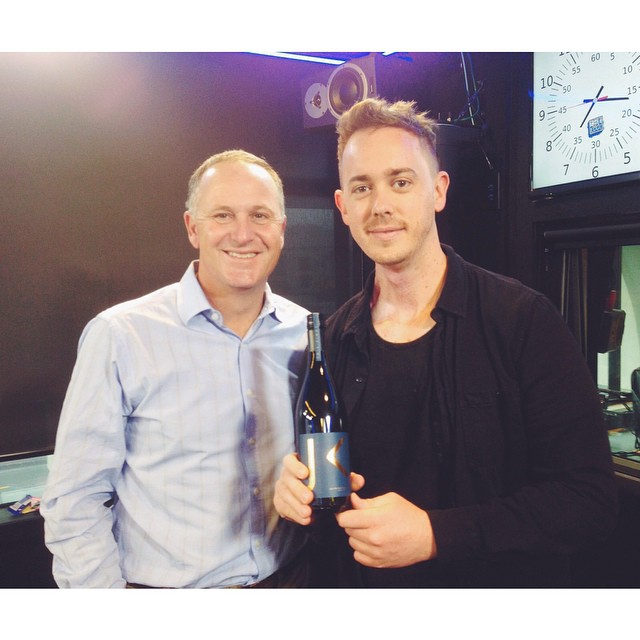 AUDIO: John Key takes over sports news on breakfast radio