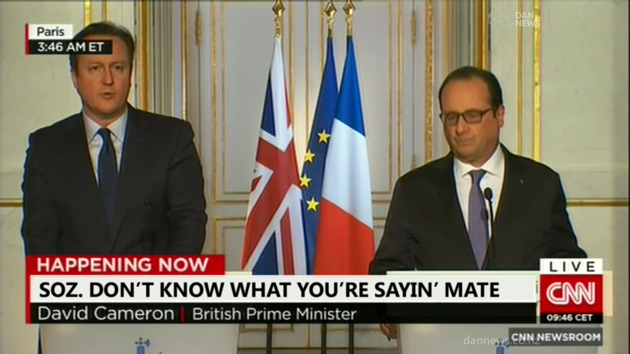 VIDEO: CNN Translates English to……English