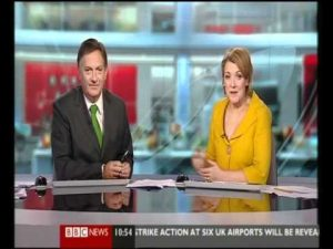 Blooper: BBC Weather man gives everyone the finger