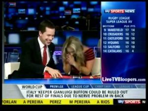 Blooper: Sports news host pranked live on air