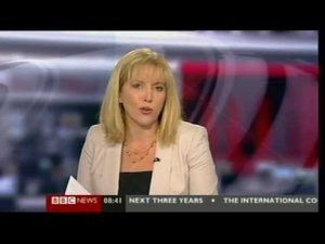Newsreader reveals salary while talking to MP