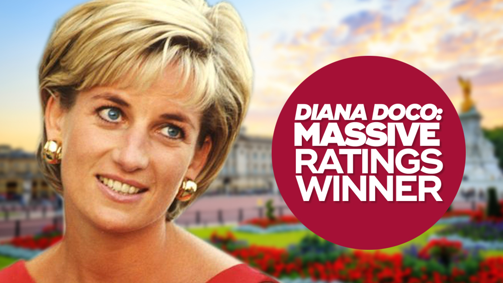 Diana doco gives THREE its biggest ratings night this year