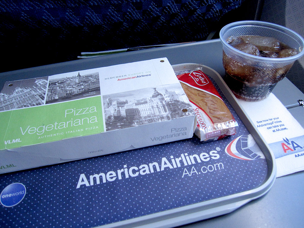 What happens to unused inflight food?