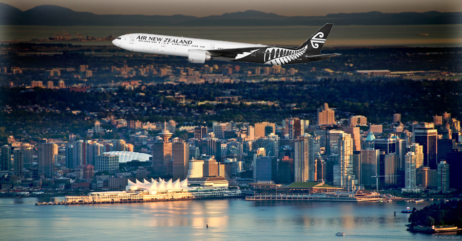 Air New Zealand increases capacity on Vancouver route