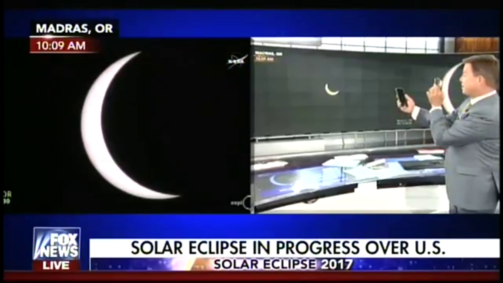 Eclipse science according to Fox News….
